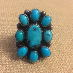 Jewelry - Turquoise cluster ring